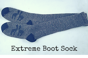 extreme alpaca boot sock