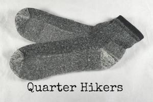 quarter hiker alpaca sock