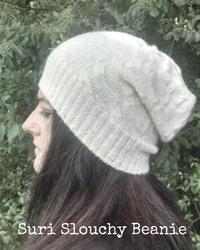 slouchy alpaca hat