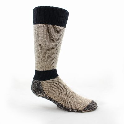 High Calf Alpaca Sock