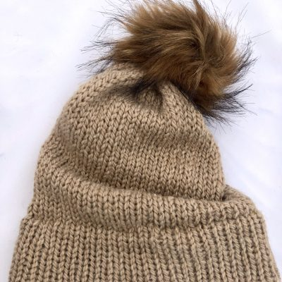 Fawn Womens Knit Hat